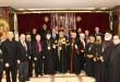 اعضاء اللجنة التنفيية ورؤساء المجلس مع قداسة البابا تواضروس