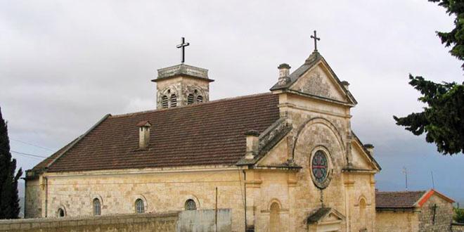 دير القديس يوسف في بلدة القنية