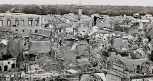 الحي المسيحي في دمشق مباشرة بعد المذبحة عام 1860