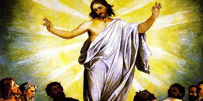 قال المعترض: يدلّ قول المسيح : إني أصعد إلى أبي وأبيكم وإلهي وإلهكم ..إنه كان واحداً من البشر لا أكثر