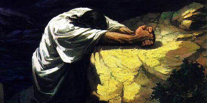 قال المعترض: لمن كان يصلي يسوع المسيح إن كان هو الله؟!!