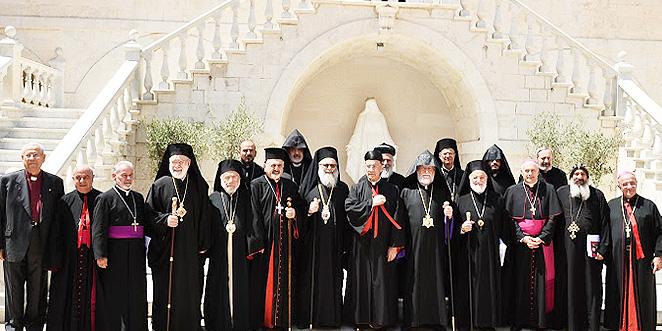 بكركي تحتضن قمة روحية لرؤساء الكنائس المسيحية في لبنان