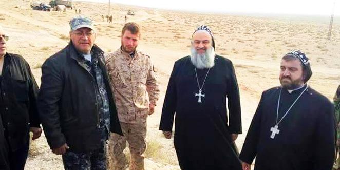 البطريرك كريم يزور بلدة صدد دعماً لها في وجه هجوم متوقع من داعش