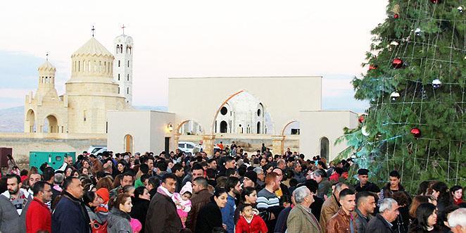 مسيحيو الأردن يحتفلون بالميلاد معاً منذ 40 سنة