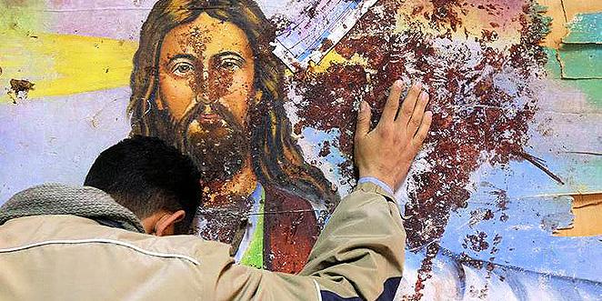 العراق ثاني اكثر الدول اضطهادا للمسيحيين في العالم لعام 2015، سوريا الخامسة وفلسطين بالمرتبة 24