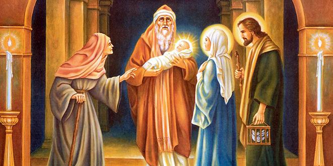 عيـد دخول السيد المسيح إلى الهيكل « عيد شمعون الشيخ »
