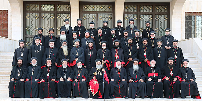 بيان هام صادر عن آباء المجمع المقدّس للكنيسة السريانية الأرثوذكسية الأنطاكية