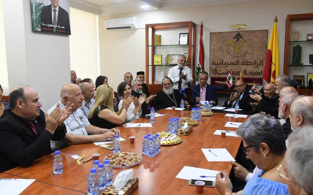 لبنان – اللجنة الثقافية في الرابطة السريانية تكرم الملفان عبد الكريم شاهان